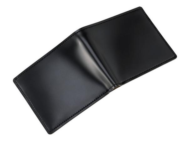 二つ折り財布 新コードバン&ベジタブルタンニン