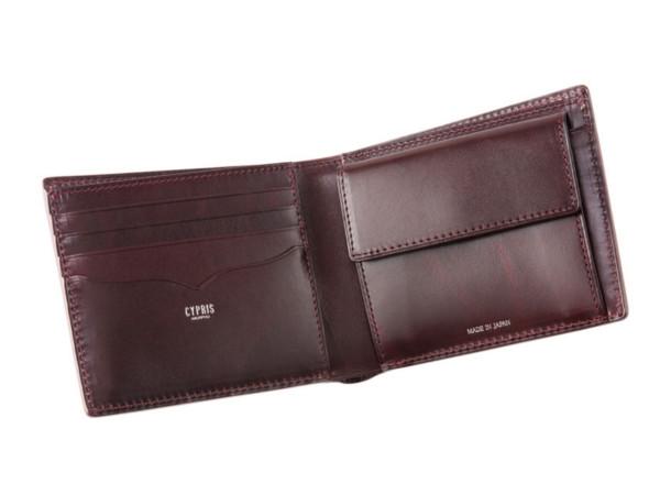 二つ折り財布 ブライドルレザー&ルーガショルダー