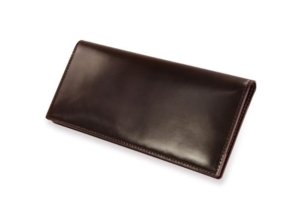 SHELL CORDOVAN 2 (シェルコードバン2)マチ無し長財布