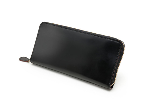 SHELL CORDOVAN 2(シェルコードバン2)ラウンドファスナー長財布