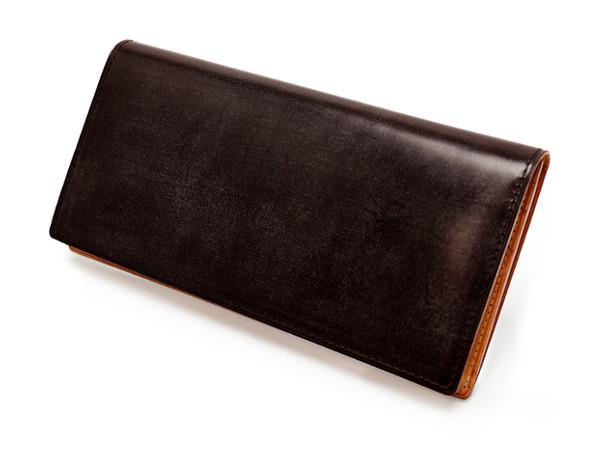 シンブライドル ファスナー小銭入れ付き長財布