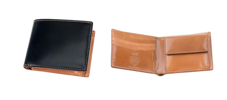 ホーウィンコードバン&ナチュラルーコードバン 二つ折り財布