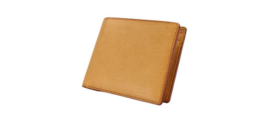 ミネルバナチュラル 二つ折り財布