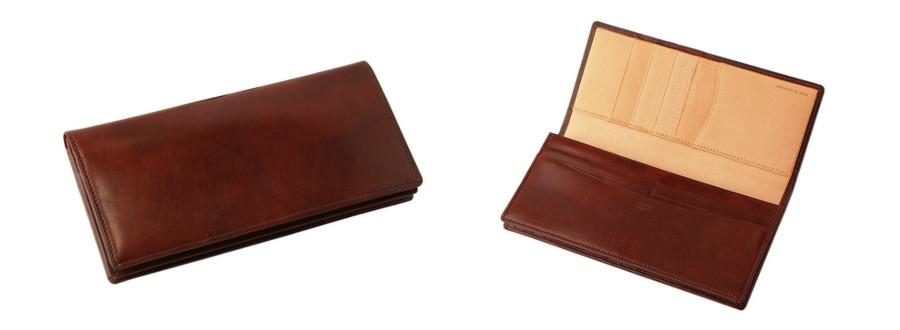シラサギレザー 長財布