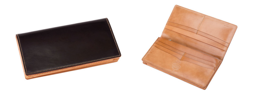 ホーウィンコードバン&ナチュラルーコードバン 長財布