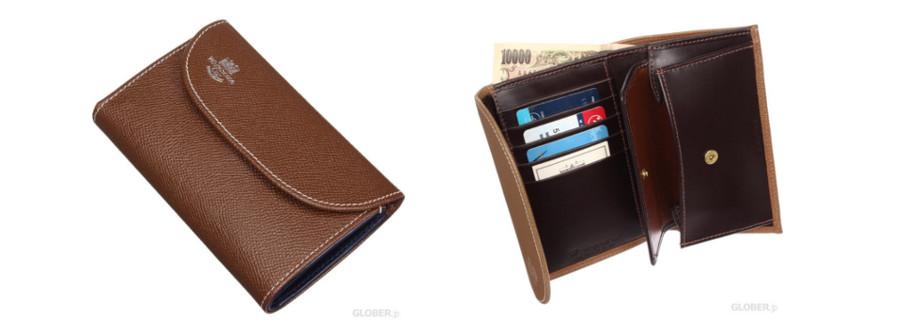 ロンドンカーフ 三つ折り財布