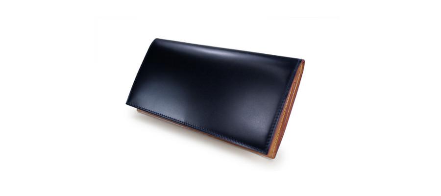 CORDOVAN (コードバン) ファスナー付き長財布