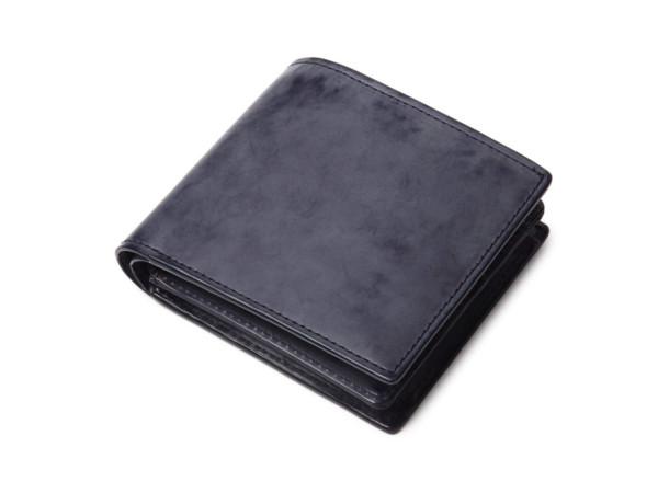 表裏フルブライドルレザー 二つ折り財布