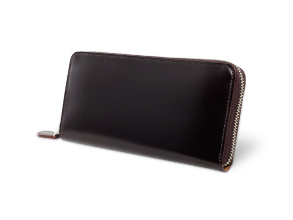 CORDOVAN(コードバン)ラウンドファスナー長財布