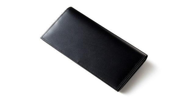 かぶせ蓋長財布