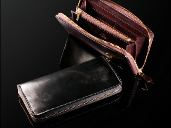 ココマイスターのコードバン財布